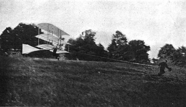 Whitehead flying machine
